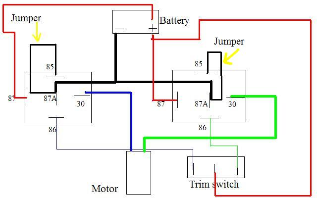 Viewing a thread - 2 wire motor trim wiring diagram