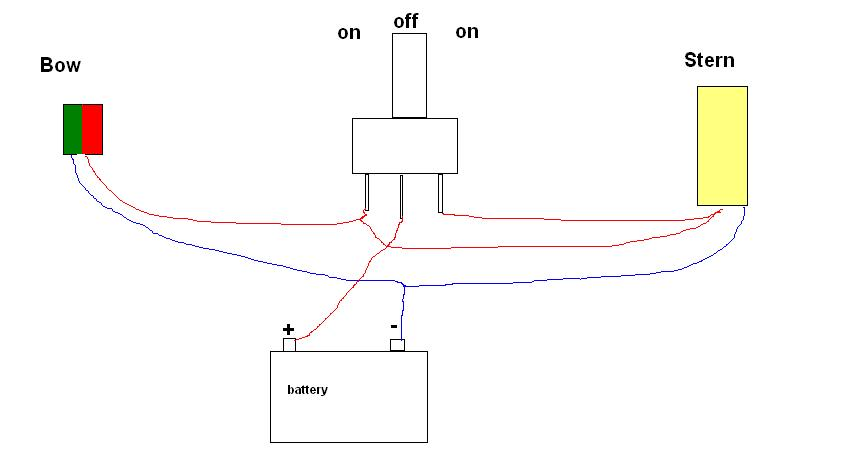 Boat Light Wiring Diagram : Viewing a thread help with wiring jon boat running light