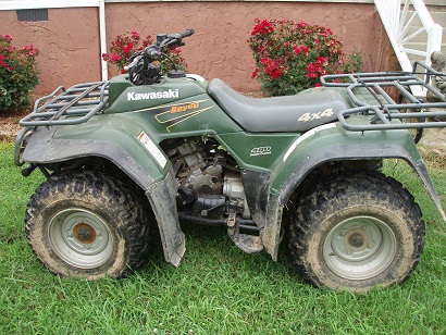 viewing a thread - 4 wheeler fs 1999 kawasaki bayou 400 4x4 sold