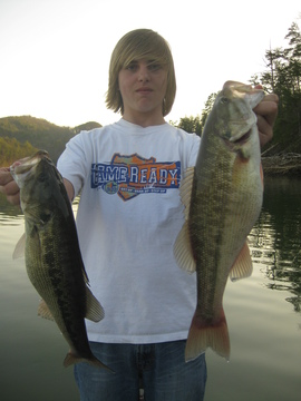 Colby with a couple Fat Spots between 3-4lbs