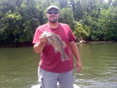 2 lb. 14 oz. smallmouth bass