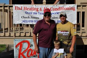 9/17/11 8th place with 15.33 lbs. Colby had to leave early.