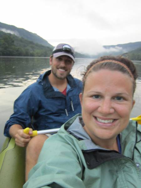 Kayaking with the Wife - TN River