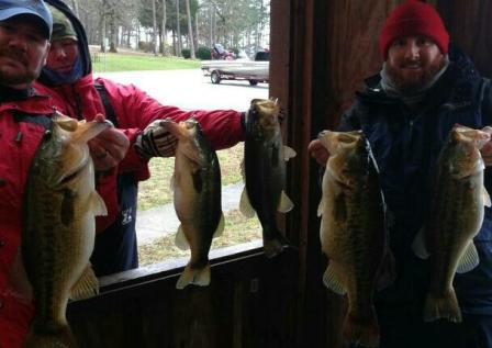 Me and Dave with 27.53# Bag in the second FrostBite Tourney of the year.