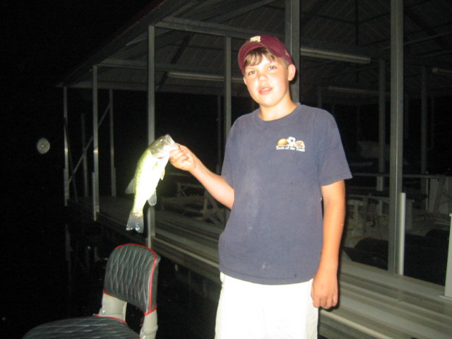 Austin's first night Bass
