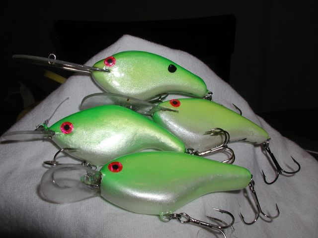 more of my crankbaits