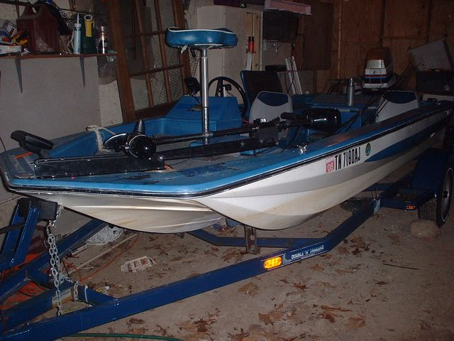 15ft Hurst Bass Boat 75Hp Erude rebuilt transom and floors